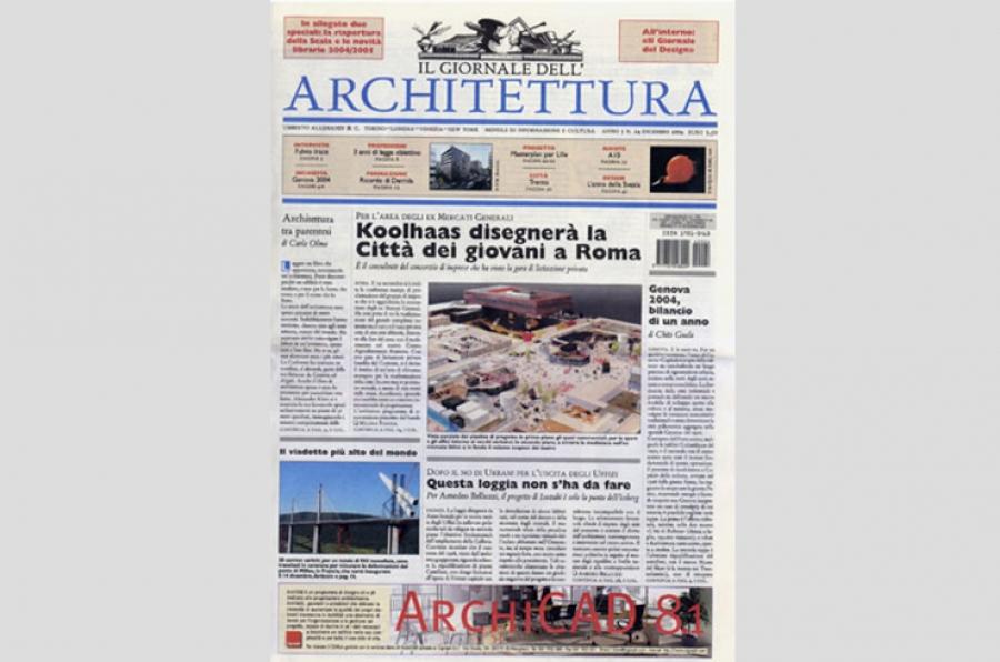 Il giornale dell 39 architettura for Giornale architettura